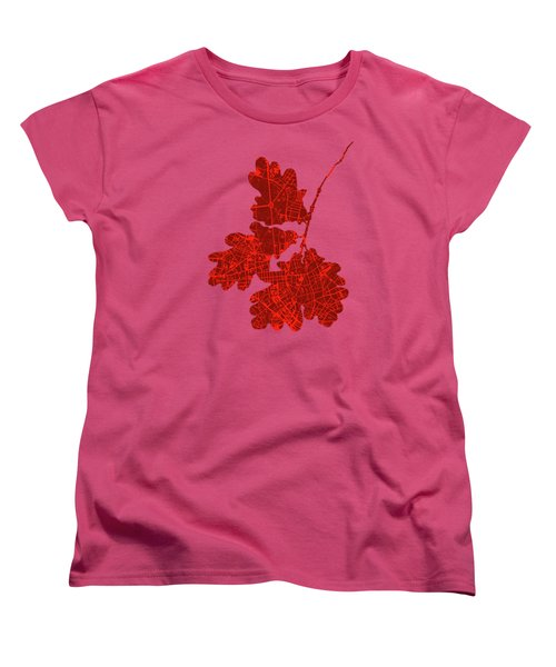 Berlin Classic Map Women's T-Shirt (Standard Cut)