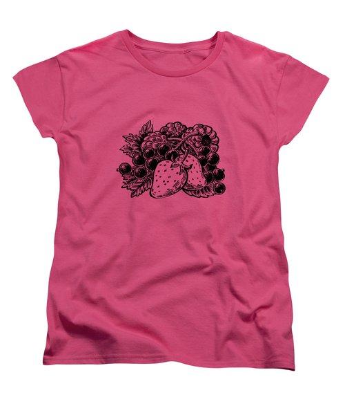Berries From Forest Women's T-Shirt (Standard Cut)