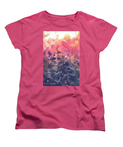 Berries In The Sun Women's T-Shirt (Standard Cut)