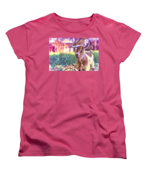 Women's T-Shirt (Standard Cut) featuring the photograph Bert by TC Morgan