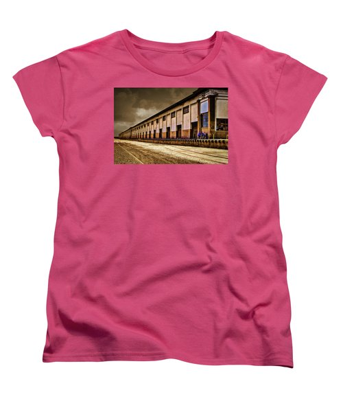 Berth 58 Port Of Los Angeles Women's T-Shirt (Standard Cut) by Joseph Hollingsworth