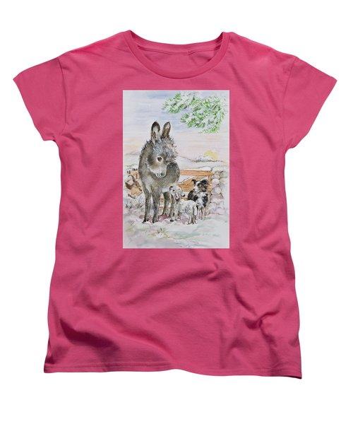 Best Friends Women's T-Shirt (Standard Cut) by Diane Matthes