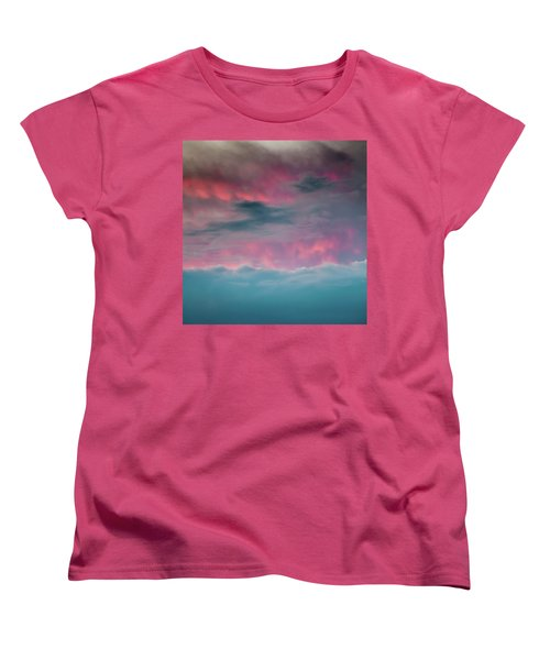 Women's T-Shirt (Standard Cut) featuring the photograph Between Mars And Venus by Az Jackson