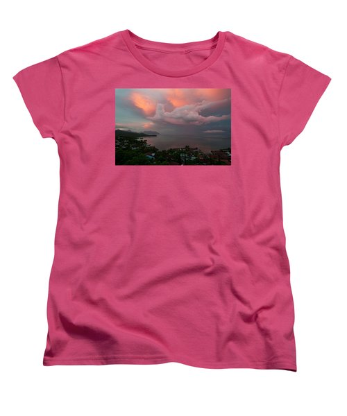 Between Rainstorms Women's T-Shirt (Standard Cut) by Dan McManus