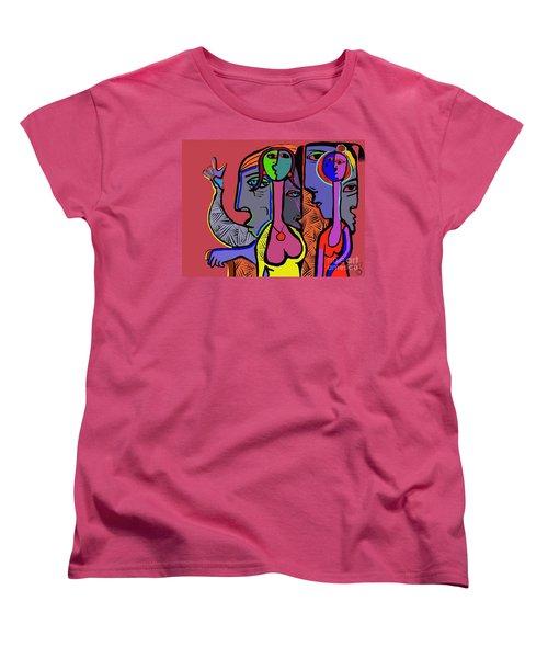 Bidding Women's T-Shirt (Standard Cut) by Hans Magden