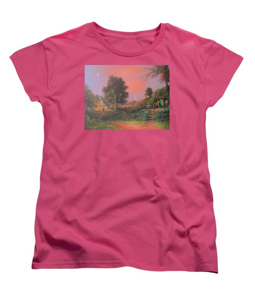 Bilbo's Eleventy-first Birthday Party Women's T-Shirt (Standard Cut) by Joe  Gilronan
