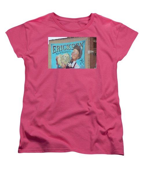 Billboard Women's T-Shirt (Standard Cut) by Pamela Walrath
