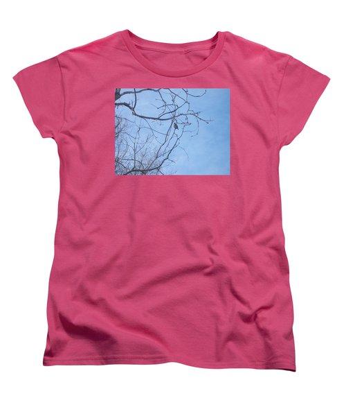 Bird On A Limb Women's T-Shirt (Standard Cut) by Jewel Hengen