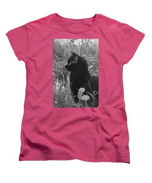 Bird Watching Women's T-Shirt (Standard Cut) by Karon Melillo DeVega