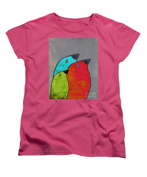 Birdies - V11b Women's T-Shirt (Standard Cut) by Variance Collections
