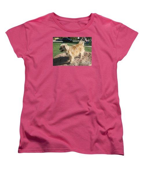 Bits On The Rocks Women's T-Shirt (Standard Cut)