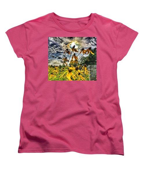 Black Eyed Susan Women's T-Shirt (Standard Cut) by Sumoflam Photography