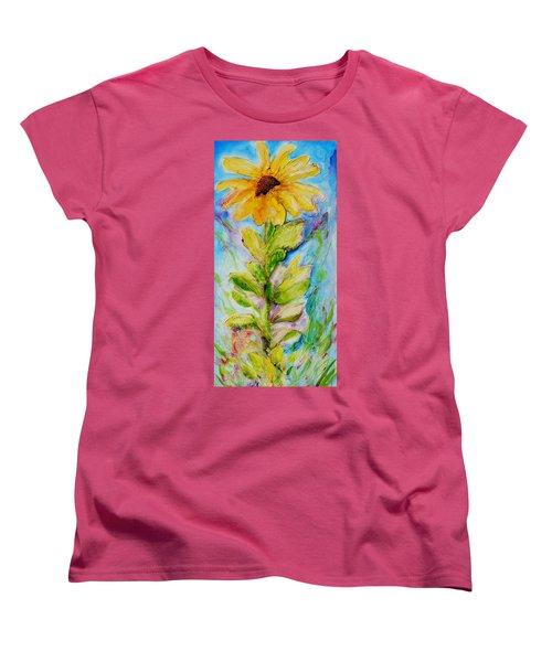 Black Eyed Susan Women's T-Shirt (Standard Cut) by Theresa Marie Johnson