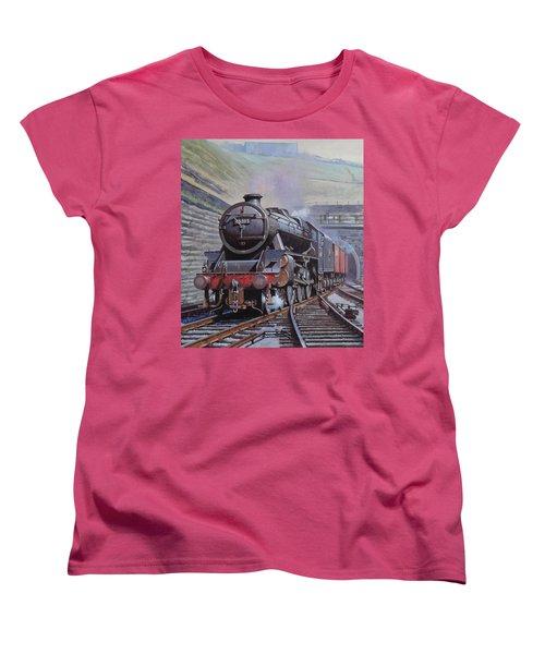 Black Five On Goods. Women's T-Shirt (Standard Cut) by Mike  Jeffries