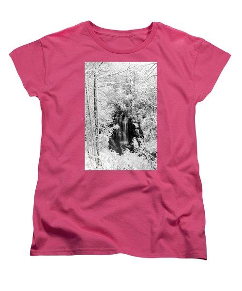 Blanket Of White Women's T-Shirt (Standard Cut) by Deborah Scannell