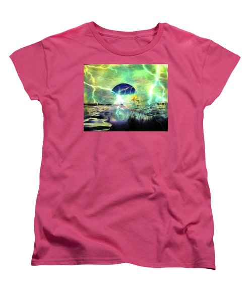 Blue Moon Women's T-Shirt (Standard Cut)