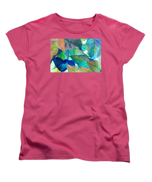 Women's T-Shirt (Standard Cut) featuring the photograph Blue Velvet by Bobby Villapando