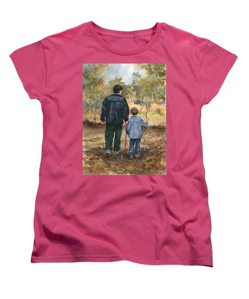Bob And Alex Women's T-Shirt (Standard Cut) by Sam Sidders