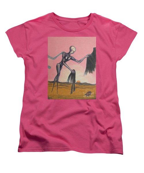 Body Soul And Spirit Women's T-Shirt (Standard Cut) by Michael  TMAD Finney