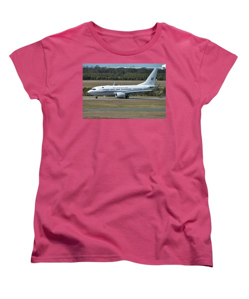 Boeing 737-7dt Women's T-Shirt (Standard Cut) by Tim Beach