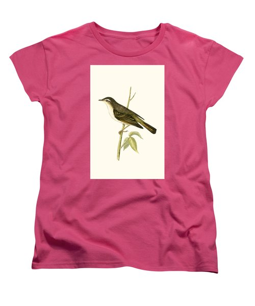 Bonelli's Warbler Women's T-Shirt (Standard Cut) by English School
