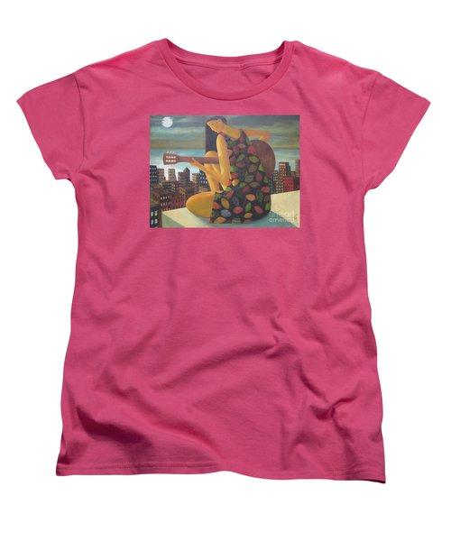 Women's T-Shirt (Standard Cut) featuring the painting Brazil by Glenn Quist