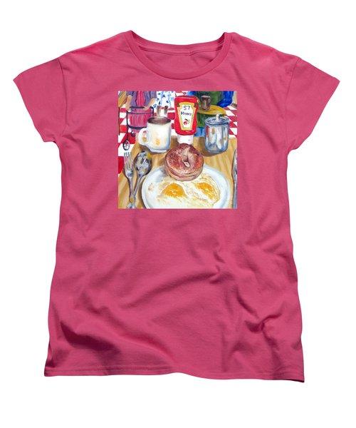 Breakfast At The Deli Women's T-Shirt (Standard Cut) by Lisa Boyd