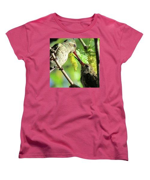 Breakfast Time Women's T-Shirt (Standard Cut) by Brenda Pressnall