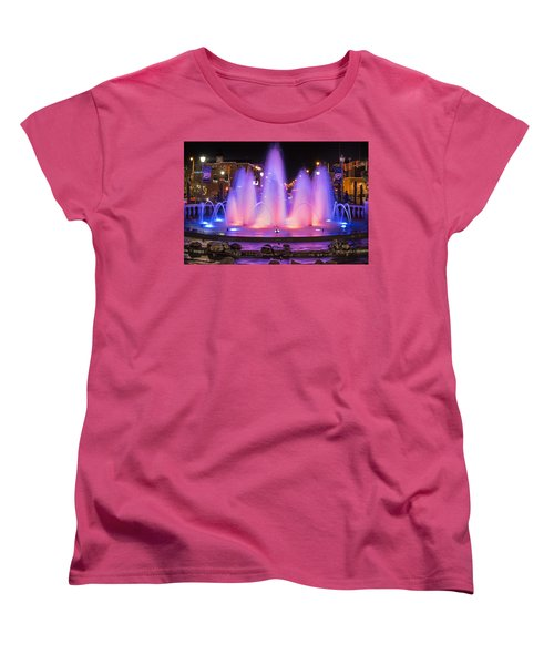 Bricktown Fountain Women's T-Shirt (Standard Cut)