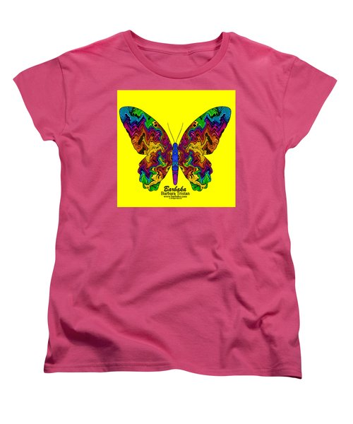 Women's T-Shirt (Standard Cut) featuring the digital art Bright Transformation by Barbara Tristan