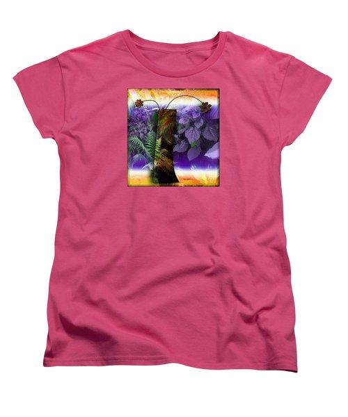 Bring Wonderland Home Women's T-Shirt (Standard Cut) by Iris Gelbart