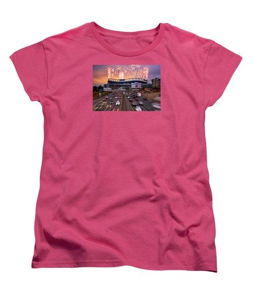 Broncos Win Afc Championship Game 2016 Women's T-Shirt (Standard Cut) by Darren White