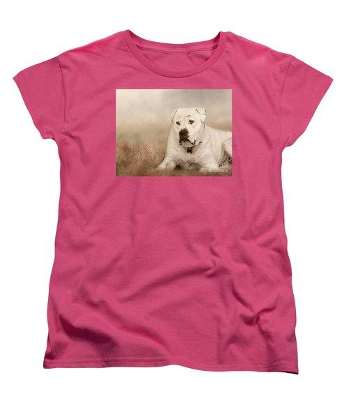 Brutus Dreaming Women's T-Shirt (Standard Cut) by Elaine Teague