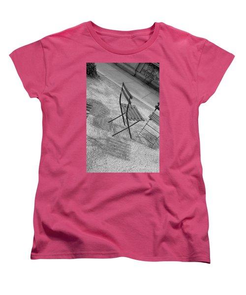 Bryant Park Nyc Women's T-Shirt (Standard Cut) by Henri Irizarri