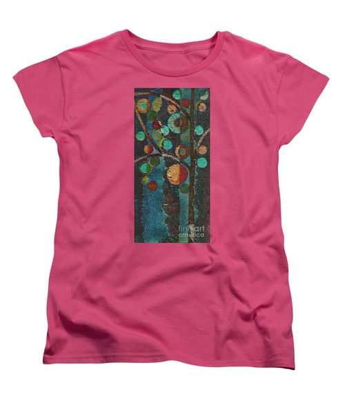 Bubble Tree - Spc02bt05 - Left Women's T-Shirt (Standard Cut) by Variance Collections