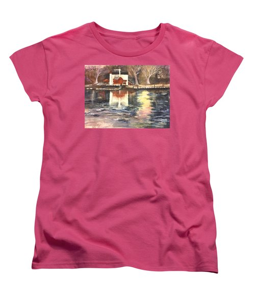 Bucks County Playhouse Women's T-Shirt (Standard Cut) by Lucia Grilletto