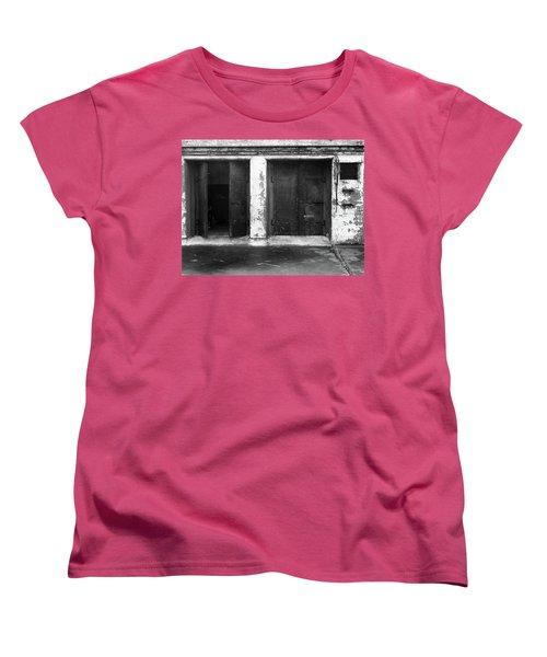Women's T-Shirt (Standard Cut) featuring the photograph Buddha 2 by Laurie Stewart