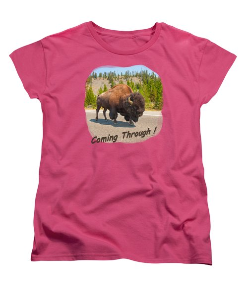 Buffalo Women's T-Shirt (Standard Cut)