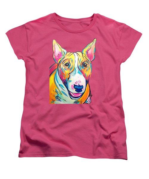 Bull Terrier Women's T-Shirt (Standard Fit)