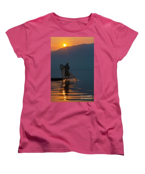 Burma_d143 Women's T-Shirt (Standard Cut) by Craig Lovell