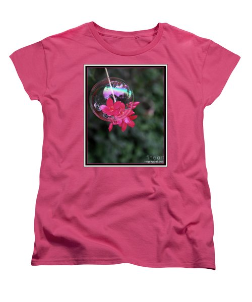 Bursting Free Women's T-Shirt (Standard Cut) by Irma BACKELANT GALLERIES