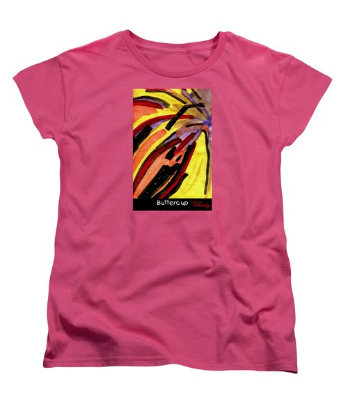 Buttercup Women's T-Shirt (Standard Cut) by Clarity Artists