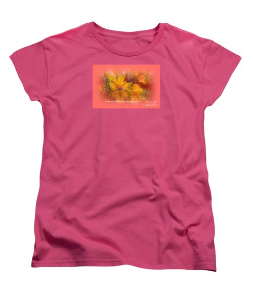 Butterfly Of Love And Peace Women's T-Shirt (Standard Cut) by Sherri's Of Palm Springs