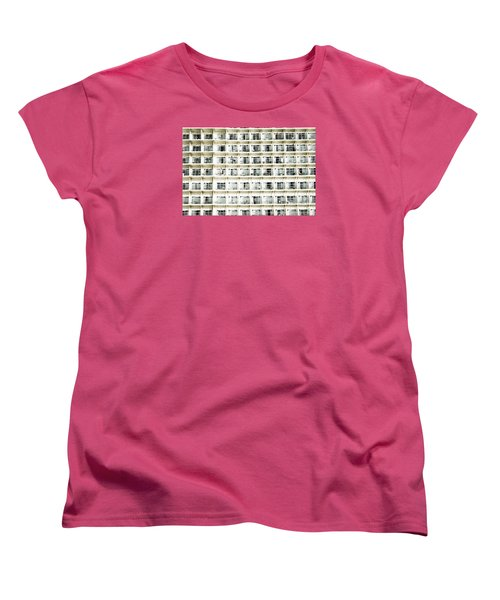 Cabins And Deck Women's T-Shirt (Standard Cut) by Perry Van Munster