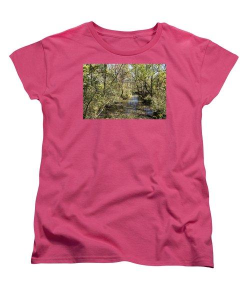 Cades Creek Women's T-Shirt (Standard Cut) by Ricky Dean
