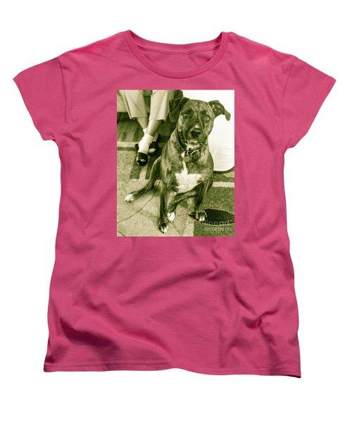 Women's T-Shirt (Standard Cut) featuring the photograph Caeser 6 by Robin Coaker
