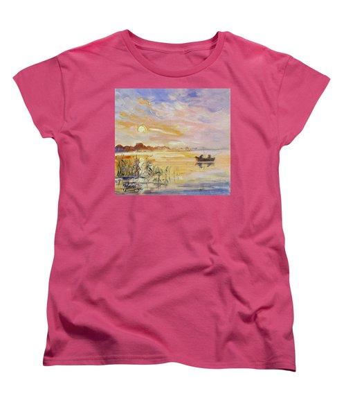 Calm Morning Women's T-Shirt (Standard Cut)