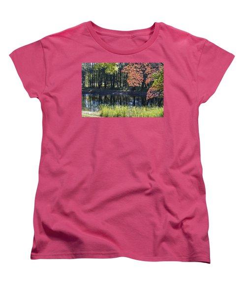Calm Waters Women's T-Shirt (Standard Cut) by Ricky Dean