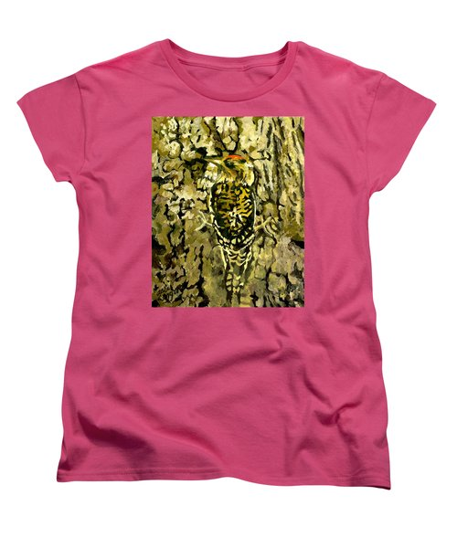 Camouflage Women's T-Shirt (Standard Cut) by Alice Leggett