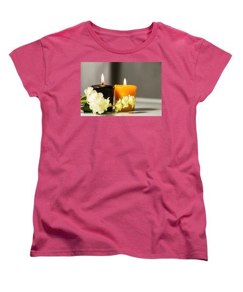 Candle Women's T-Shirt (Standard Cut) by Hyuntae Kim